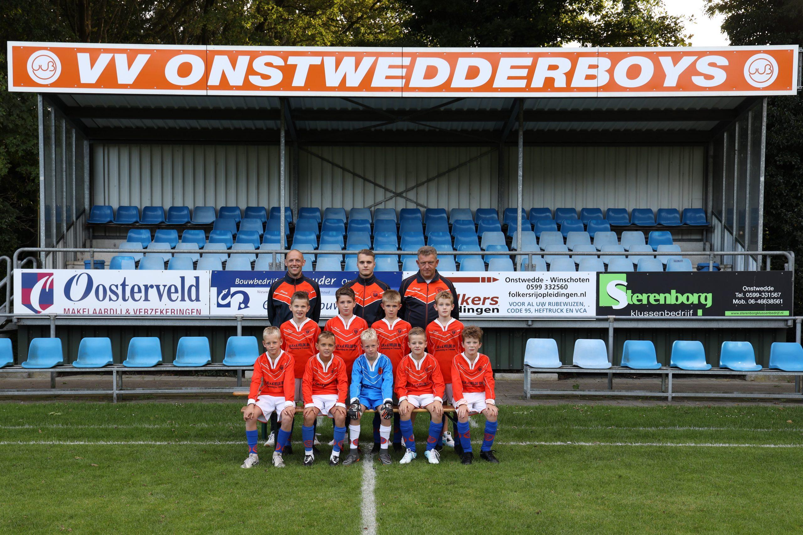 Onstwedder Boys 11 2021-2022