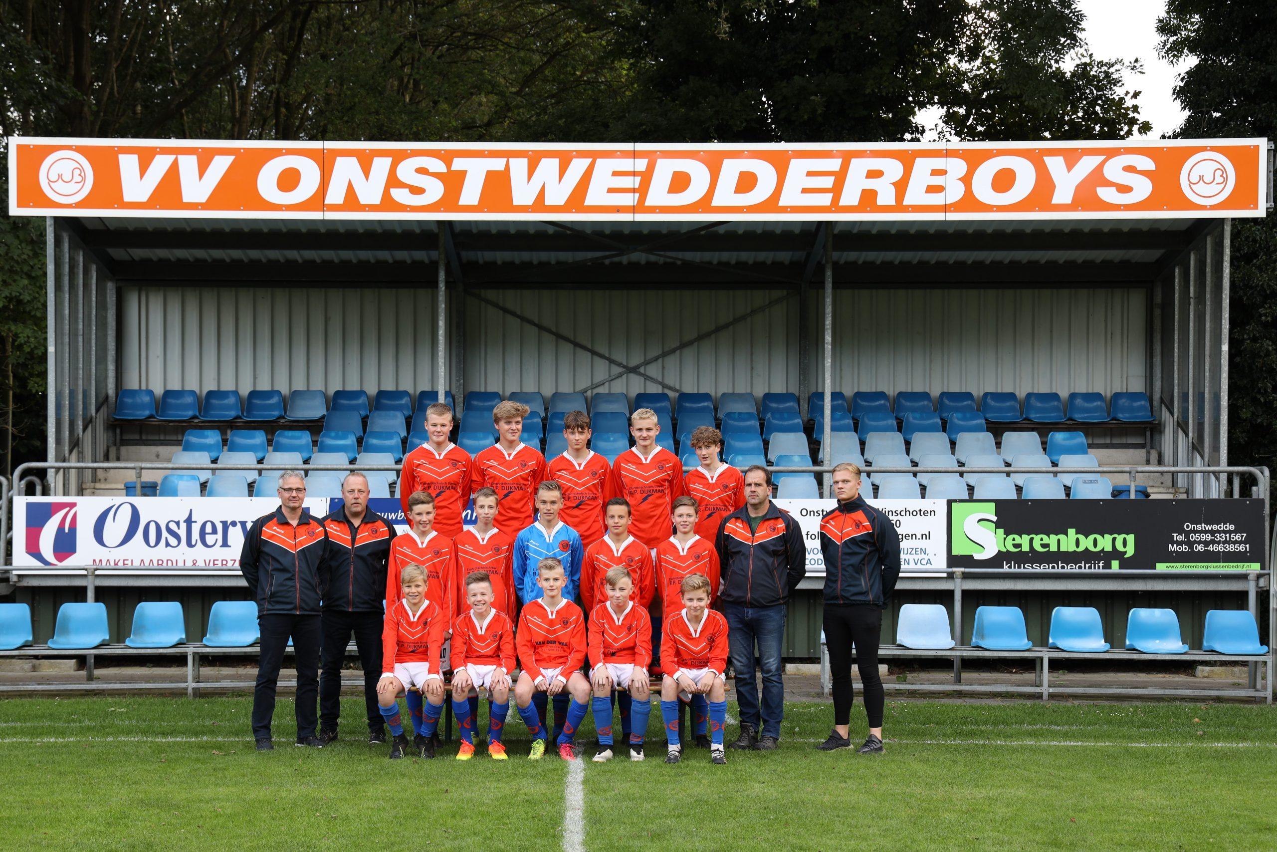 Onstwedder Boys JO15 2021-2022