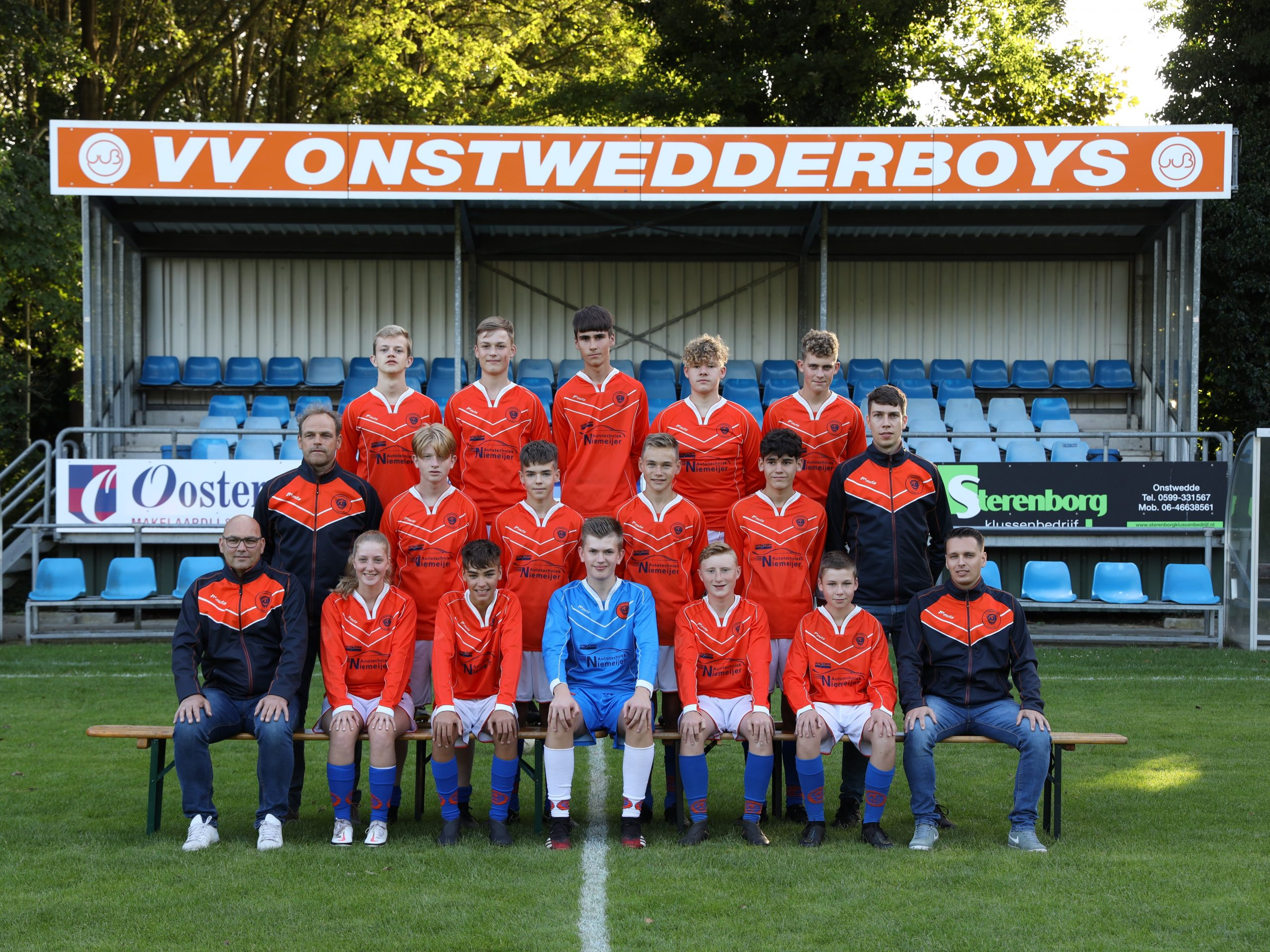 Onstwedder Boys JO17 2021-2022